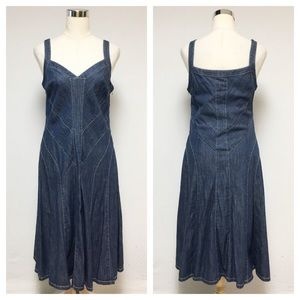 Lauren Ralph Lauren Denim Jean Dress 10R